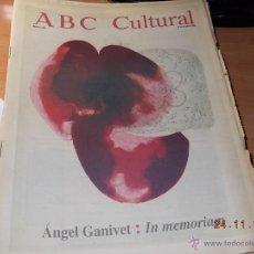 Coleccionismo de Los Domingos de ABC: ABC CULTURAL. Lote 40176350