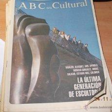 Coleccionismo de Los Domingos de ABC: ABC CULTURAL. Lote 40176597