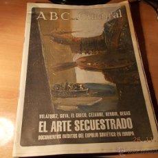Coleccionismo de Los Domingos de ABC: ABC CULTURAL. Lote 40205187