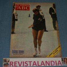 Coleccionismo de Los Domingos de ABC: REVISTA SEMANAL LOS DOMINGOS DE ABC,BEATRIZ SCHUBA,20-5-72. Lote 40276768