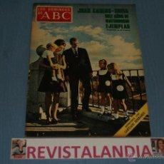 Coleccionismo de Los Domingos de ABC: REVISTA SEMANAL LOS DOMINGOS DE ABC,REYES DE ESPAÑA,SANTIAGO BERNABEU,DEAN MARTIN,14-5-72. Lote 40277118
