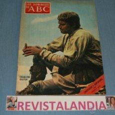 Coleccionismo de Los Domingos de ABC: REVISTA SEMANAL,LOS DOMINGOS DE ABC,CHALTON HESTON,CONCHITA MARQUEZ PIQUER,23-5-71. Lote 40290172
