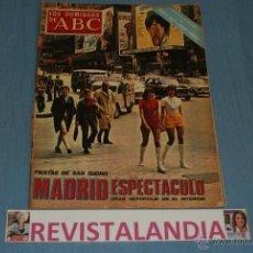 Coleccionismo de Los Domingos de ABC: REVISTA SEMANAL,LOS DOMINGOS DE ABC,LUIS MIGUEL DOMINGUIN,FERIA SAN ISIDRO,16-5-71. Lote 40290193