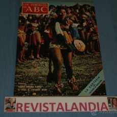 Coleccionismo de Los Domingos de ABC: REVISTA SEMANAL,LOS DOMINGOS DE ABC,JOHN HOUSTON,11-4-71. Lote 40290341