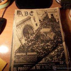 Coleccionismo de Los Domingos de ABC: ABC DE SEVILLA. ANGUSTIAS (GITANOS). Lote 40327024