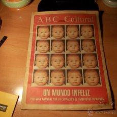 Coleccionismo de Los Domingos de ABC: ABC CULTURAL. Lote 40385830