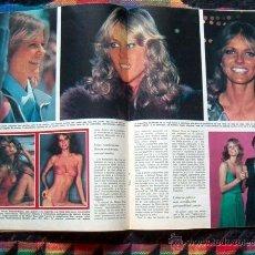 Coleccionismo de Los Domingos de ABC: REVISTA ABC / CHERYL TIEGS, MARGARET THATCHER. Lote 40564406