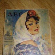 Coleccionismo de Los Domingos de ABC: BONITO ABC DOMINICAL EN COLOR DEL DOMINGO 21 DE MAYO DE 1961. Lote 40599049