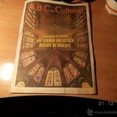Coleccionismo de Los Domingos de ABC: ABC CULTURAL. Lote 40660996