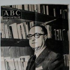 """Coleccionismo de Los Domingos de ABC: REPORTAJE ABC ORIGINAL DE 1972 """"PEPIN FERNANDEZ, EMPRESARIO DE EL RELLAN. Lote 40768790"""