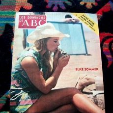 Collectionnisme de Los Domingos de ABC: REVISTA LOS DOMINGOS DE ABC 1973 / ELKE SOMMER, CARMINA ORDOÑEZ , CARMEN. Lote 41012318