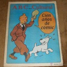 Coleccionismo de Los Domingos de ABC: ABC CULTURAL. Lote 41233373