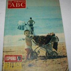 Coleccionismo de Los Domingos de ABC: LOS DOMINGOS DE ABC - ESPAÑA 70 MALAGA - 13 DE SEPTIEMBRE DE 1970. Lote 41706288