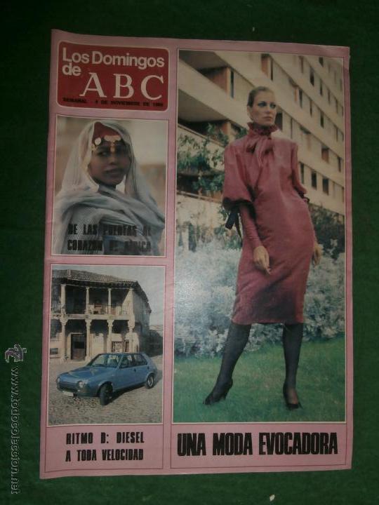 LOS DOMINGOS DE ABC 1980 MINGOTE (Coleccionismo - Revistas y Periódicos Modernos (a partir de 1.940) - Los Domingos de ABC)