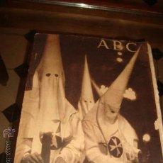 Coleccionismo de Los Domingos de ABC: ABC, SEMANA SANTA SEVILLA, AÑO 1945 , . Lote 28850720