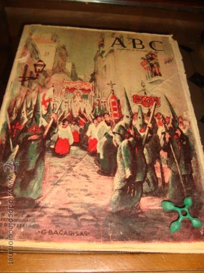 ABC, 1953 , NUMERO EXTRAORDINARIO, DOS PESETAS, SEMANA SANTA, (Coleccionismo - Revistas y Periódicos Modernos (a partir de 1.940) - Los Domingos de ABC)