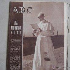 Coleccionismo de Los Domingos de ABC: ANTIGUO PERIODICO ABC. Lote 42801037