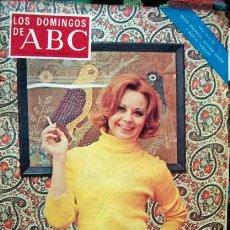 Coleccionismo de Los Domingos de ABC: REVISTA LOS DOMINGOS DE ABC 1974 / ROCIO DURCAL. Lote 43039630