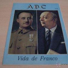 Coleccionismo de Los Domingos de ABC: ABC VIDA DE FRANCO NÚMERO 25. Lote 43528633