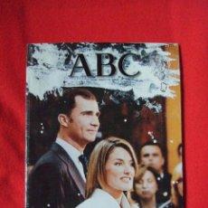 Coleccionismo de Los Domingos de ABC: ABC - LA BODA DEL PRÍNCIPE DE ASTURIAS. Lote 43652206