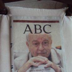Coleccionismo de Los Domingos de ABC: GRACIAS VIEJO. ADIOS ALFREDO DI STEFANO.. Lote 44269262