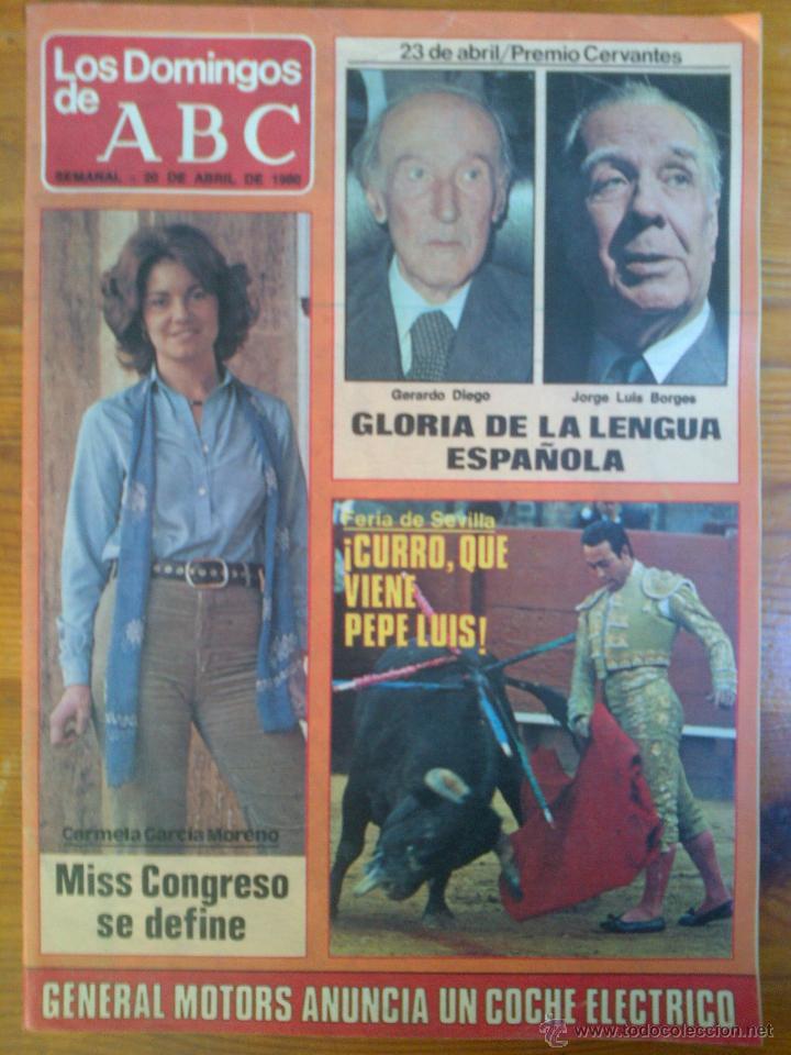 LOS DOMINGOS DE ABC, 1980 (Coleccionismo - Revistas y Periódicos Modernos (a partir de 1.940) - Los Domingos de ABC)
