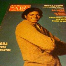 Colecionismo de Los Domingos de ABC: MICHAEL JACKSON- BUTRAGUEÑO. Lote 45340298