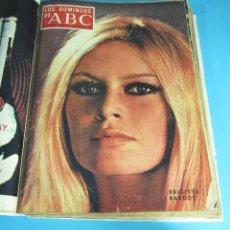 Coleccionismo de Los Domingos de ABC: 13 SUPLEMENTOS ENCUADERNADOS AÑO 1969. ROCIO DURCAL. ATLÉTICO MADRID. VALENCIA C.F. ELIZABETH TAYLOR. Lote 45704973
