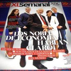Coleccionismo de Los Domingos de ABC: XL SEMANAL ABC Nº 1403. 14-9-14. NOBEL DE ECONOMÍA, JOSÉ MARÍA CASADO, BRIGITTE BARDOT KILIAN JORNET. Lote 46032602