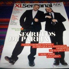 Coleccionismo de Los Domingos de ABC: XL SEMANAL ABC Nº 1404. 21-9-14. TORRENTE V SANTIAGO SEGURA ALEC BALDWIN ANA MARÍA MATUTE. BE.. Lote 46032636