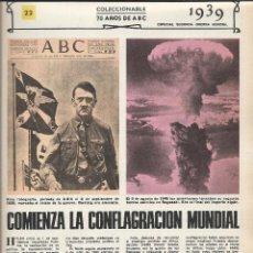 Coleccionismo de Los Domingos de ABC: 4244- FASCICULO COLECCIONABLE Nº 22- 70 AÑOS DE ABC. Lote 46314143