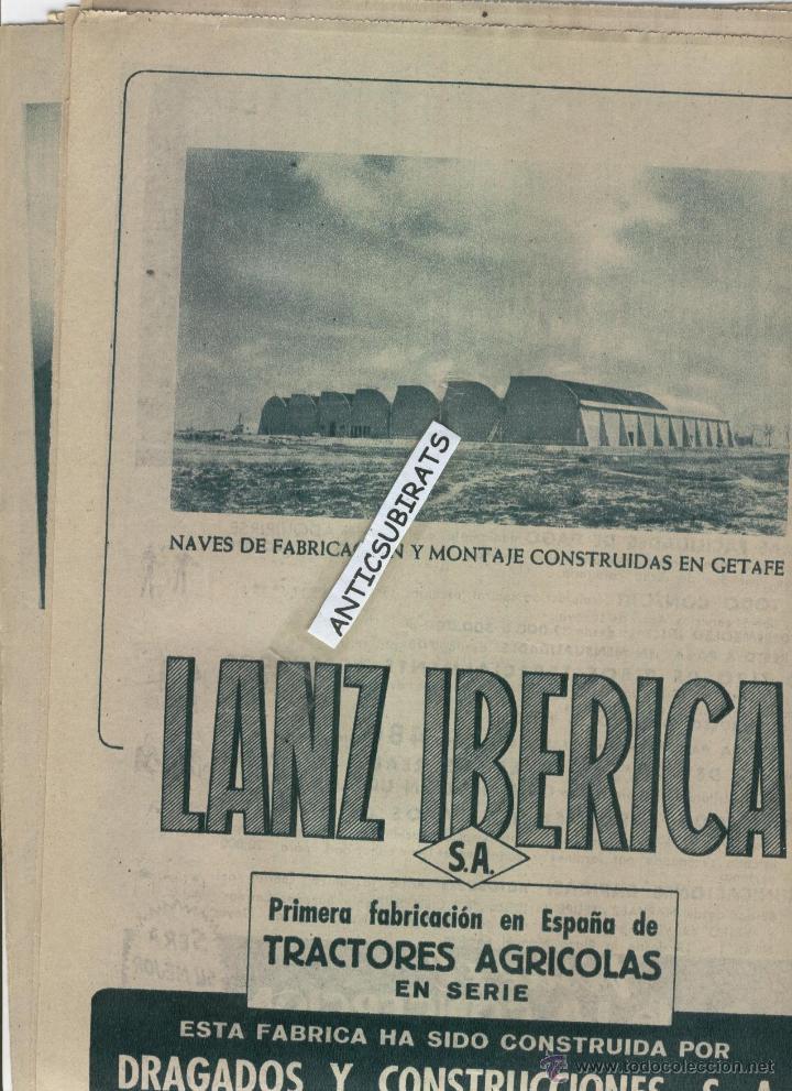 Coleccionismo de Los Domingos de ABC: ABC 1955 DESFILE MILITA GETAFE PINAZO EN GODELLA BISCUTER BALNEARIO DE MARMOLEJO JAEN HOTEL ZURBANO - Foto 2 - 8013844