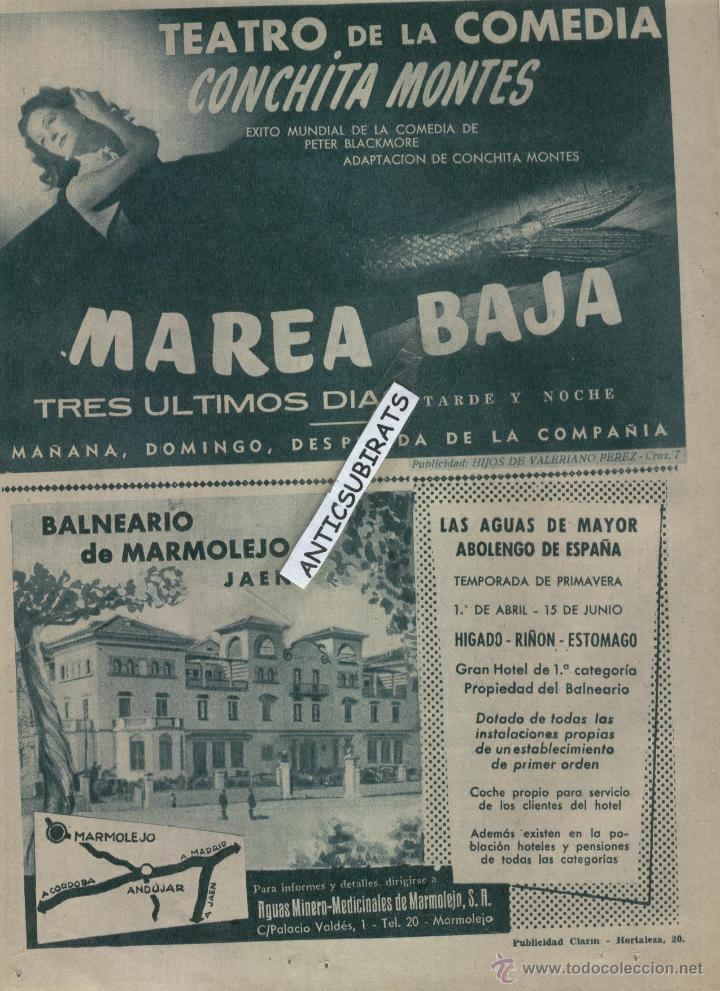 Coleccionismo de Los Domingos de ABC: ABC 1955 DESFILE MILITA GETAFE PINAZO EN GODELLA BISCUTER BALNEARIO DE MARMOLEJO JAEN HOTEL ZURBANO - Foto 4 - 8013844