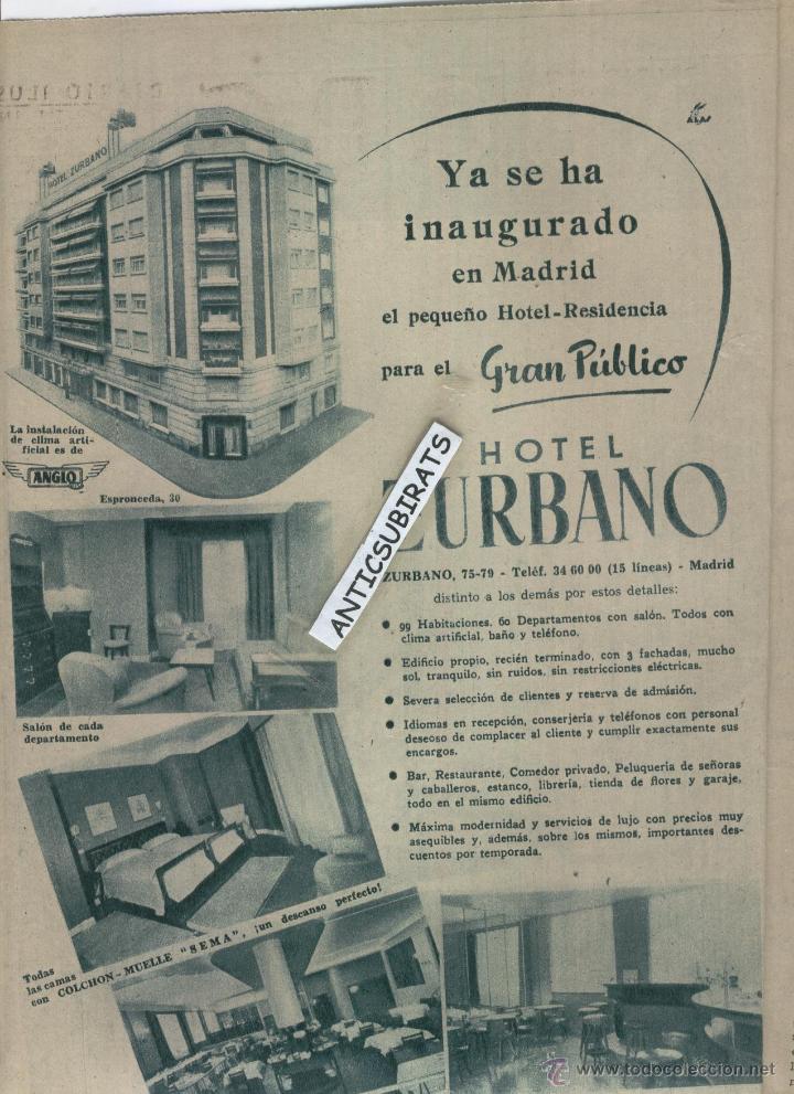 Coleccionismo de Los Domingos de ABC: ABC 1955 DESFILE MILITA GETAFE PINAZO EN GODELLA BISCUTER BALNEARIO DE MARMOLEJO JAEN HOTEL ZURBANO - Foto 5 - 8013844