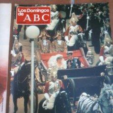 Coleccionismo de Los Domingos de ABC: LOS DOMINGOS DE ABC 2-8-1981 CARLOS Y DIANA LA BODA EN COLOR. Lote 46664706