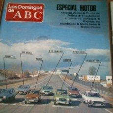 Collectionnisme de Los Domingos de ABC: LOS DOMINGOS DE ABC.ESPECIAL MOTOR. Lote 46671043