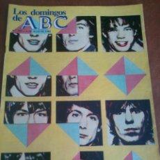Coleccionismo de Los Domingos de ABC: LOS DOMINGOS DE ABC.EL REGRESO DE SUS SATANICAS MAJESTADES,SEIS PAGINAS.. Lote 46671143