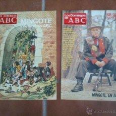 Collectionnisme de Los Domingos de ABC: LOS DOMINGOS DE ABC.GRAN CARNAVAL FOTOGRAFICO.MINGOTE 25AÑOS EN A.B.C. Lote 46701265