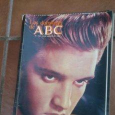 Coleccionismo de Los Domingos de ABC: LOS DOMINGOS DE ABC.ELVIS LOS RESTOS DE UN MITO.. Lote 182162466