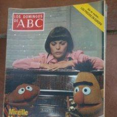 Coleccionismo de Los Domingos de ABC: LOS DOMINGOS DE ABC.MIREILLE MATHIEU.. Lote 46913508