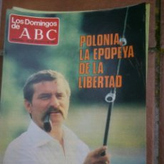 Collectionnisme de Los Domingos de ABC: LOS DOMINGOS DE ABC.LECH WALESA.. Lote 46913558