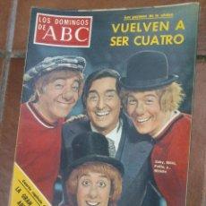 Coleccionismo de Los Domingos de ABC: LOS DOMINGOS DE ABC.LOS PAYASOS DE LA TELE.. Lote 46913641