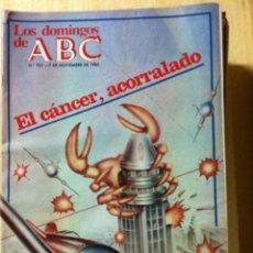 Coleccionismo de Los Domingos de ABC: LOS DOMINGOS DE ABC. Nº 757. FECHA 7 NOVIEMBRE DE 1982. Lote 47283377
