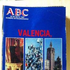 Coleccionismo de Los Domingos de ABC: LOS DOMINGOS DE ABC. FECHA: 20 MAYO 1982 NÚMERO EXTRAORDINARIO 120 PÁG. VALENCIA. Lote 47283710