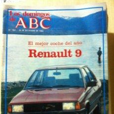 Coleccionismo de Los Domingos de ABC: LOS DOMINGOS DE ABC. Nº 764, FECHA 26 DICIEMBRE 1982. Lote 47284090