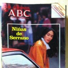 Coleccionismo de Los Domingos de ABC: LOS DOMINGOS DE ABC. NUMERO 752 FECHA: 3 OCTUBRE 1982 . Lote 47285876