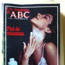 Coleccionismo de Los Domingos de ABC: LOS DOMINGOS DE ABC. NUMERO 750 FECHA: 19 SEPTIEMBRE 1982 . Lote 47285924