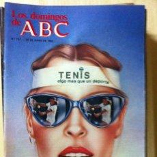 Coleccionismo de Los Domingos de ABC: LOS DOMINGOS DE ABC. NUMERO 738 FECHA: 27 JUNIO 1982. Lote 47286265