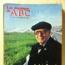 Coleccionismo de Los Domingos de ABC: LOS DOMINGOS DE ABC. NÚMERO 713 FECHA: 3 ENERO 1982 . . Lote 47287059