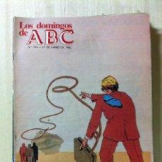 Coleccionismo de Los Domingos de ABC: LOS DOMINGOS DE ABC. NUMERO 715 FECHA: 17 ENERO 1982 . Lote 47287155